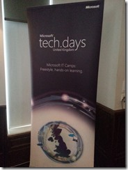 Microsoft UK Tech.Days Windows 8 Camp