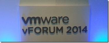 VMWare vForum London 2014